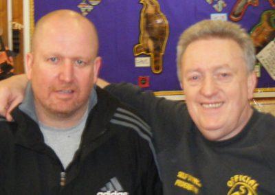 Michael Jones & Dave Turton 9th Dan